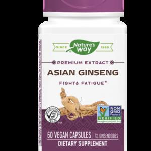 Koreaanse Ginseng gestandaardiseerd (60 vegetarische capsules) - Nature's Way